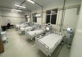 Imagem de uma das alas do Hospital de Clínicas, em CG