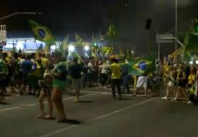 Manifestação reúne apoiadores de Bolsonaro em João Pessoa
