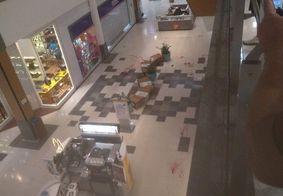 Vídeo | Tiroteio deixa feridos em shopping no Recife
