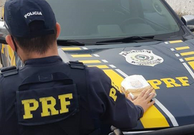PRF prende casal transportando 1kg de cocaína no Litoral Norte da Paraíba