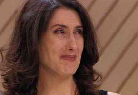 Paola Carosella fica emocionada ao anunciar 1º campeão do MasterChef