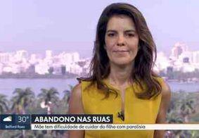 Apresentadora da Globo perde a fala ao vivo após reportagem emocionante