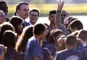 """""""Vocês vão garantir nossa aposentadoria"""", diz Bolsonaro à crianças sobre Previdência"""