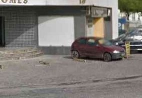 Empresarial é arrombado e tem porta quebrada em bairro nobre de João Pessoa