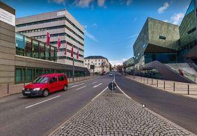 Polícia segue investigando o caso. Campus da universidade de Darmstadt