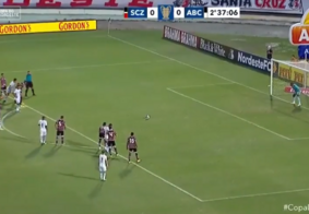Derrotado pelo ABC, Santa Cruz amarga segunda derrota na Copa do Nordeste
