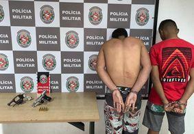 Suspeitos foram encaminhados à Central de Polícia, no bairro do Geisel
