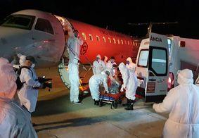 Pacientes de Manaus desembarcam em João Pessoa
