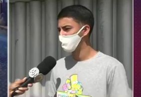 Jovem foi vítima de sequestro-relâmpago