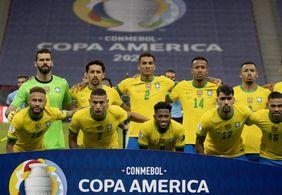 Seleção vence Venezuela por 3 a 0 na estreia da Copa América