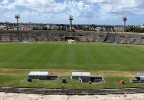Estádio Almeidão, em João Pessoa