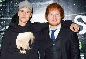 Ed Sheeran revela que já acertou Justin Bieber com um taco de golfe