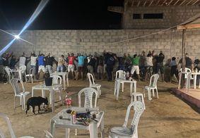 Polícia Militar encerra festa clandestina em Campina Grande