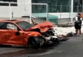 Fugindo da PM, condutor de BMW bate em veículo e mata motorista em bairro nobre de João Pessoa