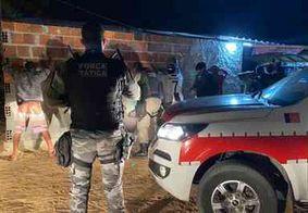 Mais de 120 suspeitos foram detidos durante o fim de semana na Paraíba