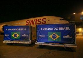 Entrega foi realizada no Aeroporto de Guarulhos, em São Paulo.
