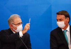 Alinhados, Marcelo Queiroga e Bolsonaro tem afinidade em decisões sanitárias.