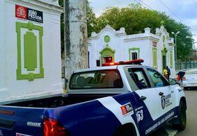 Suspeito foi encaminhado para a Central de Polícia