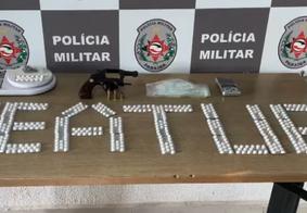 Material encontrado foi encaminhado à Central de Polícia