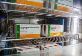 Vacina contra o novo coronavírus é produzida pelo Instituto Butantan.