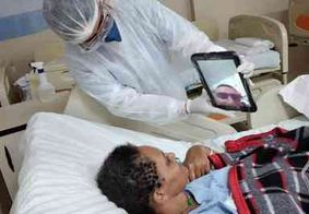 Lei permite visita virtual de familiares aos pacientes com Covid-19 na PB