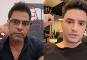 Zezé Di Camargo chama Felipe Neto de 'pivete' após crítica de youtuber