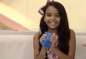 Vídeo: Mariah Yohana ensina a nova brincadeira da garotada: o slime