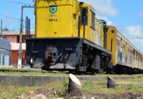 Com interdições no percurso, CBTU interrompe circulação de trens urbanos em João Pessoa