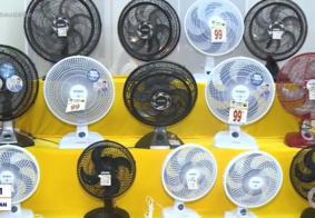 Calor em João Pessoa faz aumentar em 50% a procura por ventiladores