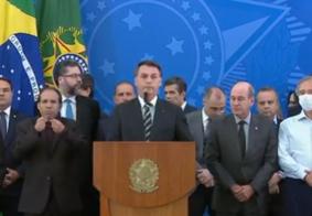 AO VIVO: Jair Bolsonaro fala sobre a demissão de Sergio Moro