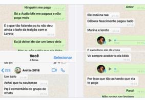 Leo Dias expõe prints e áudios em que Anitta aponta caso entre Marina Ruy Barbosa e Loreto