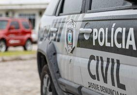 Polícia prendeu suspeito de crimes de homicídio e tráfico na região.