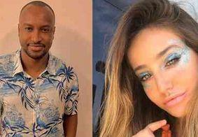 Bruna Griphao nega ter beijado Thiaguinho e diz que cantor é quase um pai para ela