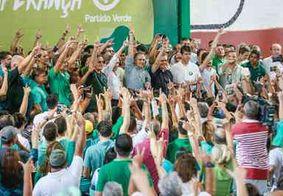 Em evento na capital, Cartaxo toma posse como presidente do diretório do PV; Lucélio ganha apoio