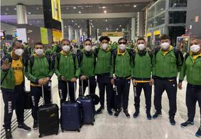 Delegação brasileira do Futebol de 5 segue para Tóquio