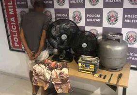 Polícia prende suspeito de invadir a mesma casa duas vezes em três dias, em João Pessoa