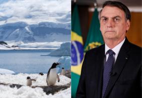Bolsonaro diz que a Antártica fica no Brasil