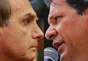 Band cancela debate entre Jair Bolsonaro e Fernando Haddad