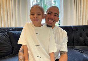 Allan Marques e o filho, Miguel