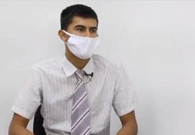 Vídeo: motoboy que foi humilhado em Valinhos diz que perdoa e manda recado para agressor