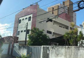 Prédio visitado por policiais civis pernambucanos nesta sexta-feira (30), em João Pessoa.