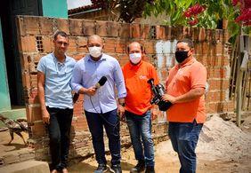 Vídeo: telespectador recebe prêmios da campanha 30 anos de TV Tambaú e 40 anos do SBT