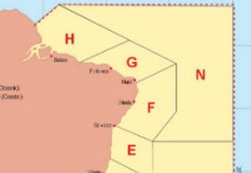 Marinha emite alerta de mau tempo no litoral paraibano