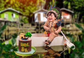 Ensaio fotográfico de bebê viraliza na internet