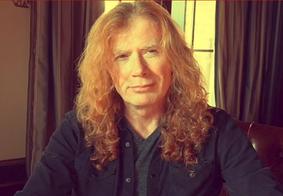 Vocalista do Megadeth revela câncer e indica cancelamento de apresentações