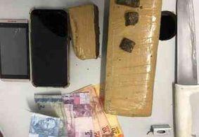 PM prende casal que estava transportando drogas pelas ruas de Campina Grande