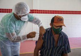 João Pessoa fecha semana com quase 12 mil idosos vacinados contra a Covid-19
