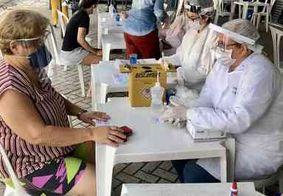 Mangabeira: quase 70 pessoas pessoas testam positivo para Covid-19 nesta sexta-feira (29)