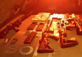 Mais de 1,2 mil armas são apreendidas em 6 meses na Paraíba