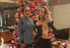 Camila Lourdes (à esq.) e Rafaela Santos (à dir.)